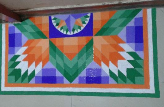 3D Independence Day and Republic Day Rangoli Designs