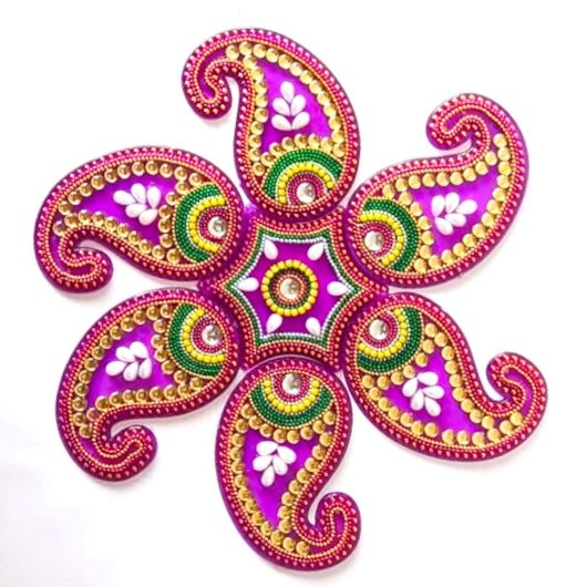 Rangoli Making Items