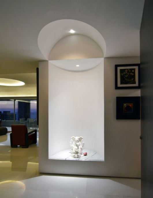 Design of Pooja Room within a House