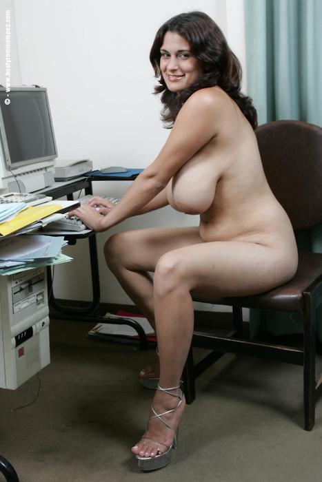Not necessary naked slut at work