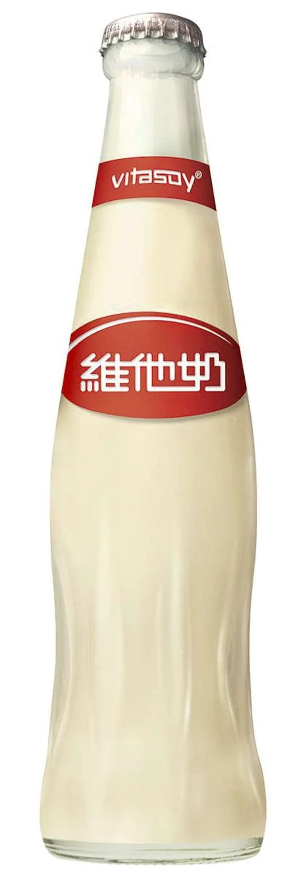 A modern Vitasoy bottle. Photo: courtesy of Vitasoy