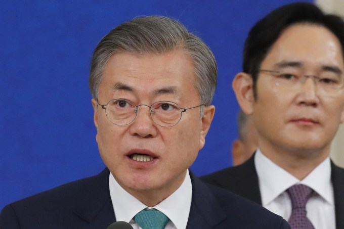 Why has the support for South Korea's President Moon Jae-in ...