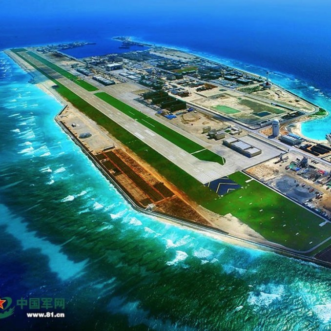 China builds rescue centre on artificial Spratly island in South ...