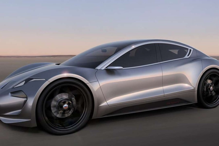 Tesla rival coming soon from legendary car designer Henrik Fisker     Legendary car designer Henrik Fisker will unveil his Tesla rival in August