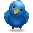 animal, bird, blue, twitter icon
