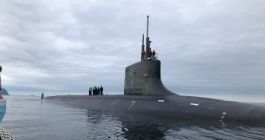 Photos: US Navy's Shy USS Seawolf Attack Sub Spotted Again in Scotland's River Clyde