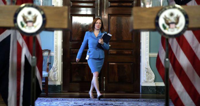 White House Press Secretary Jen Psaki Holds Her First Briefing