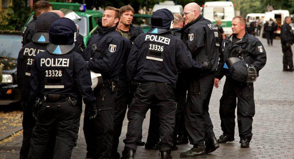 Police in Berlin