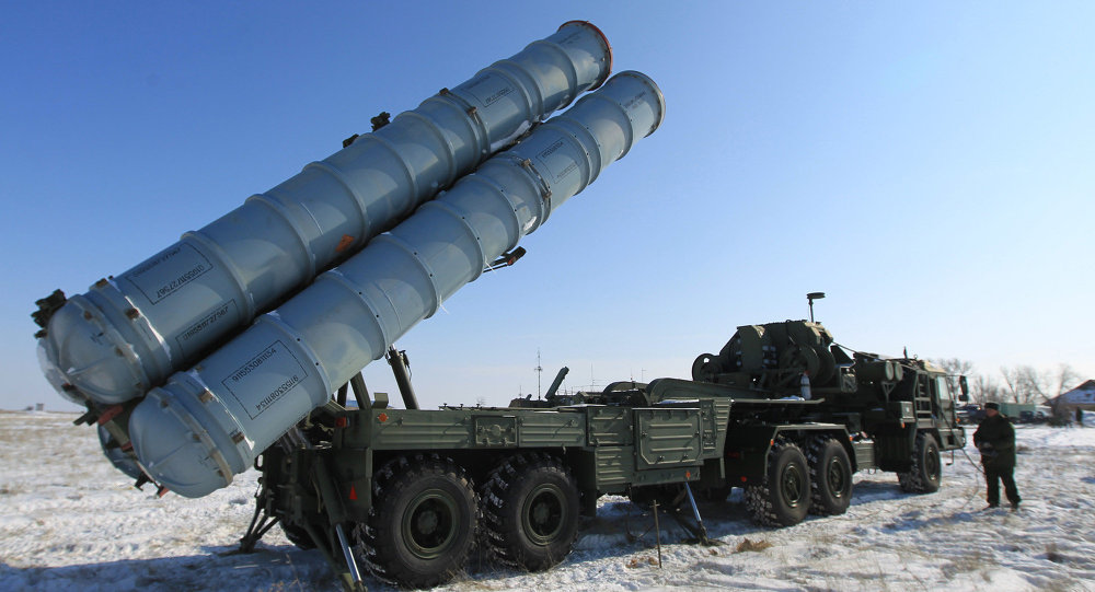 S-400 Triumph (SA-21 Growler) air defense system