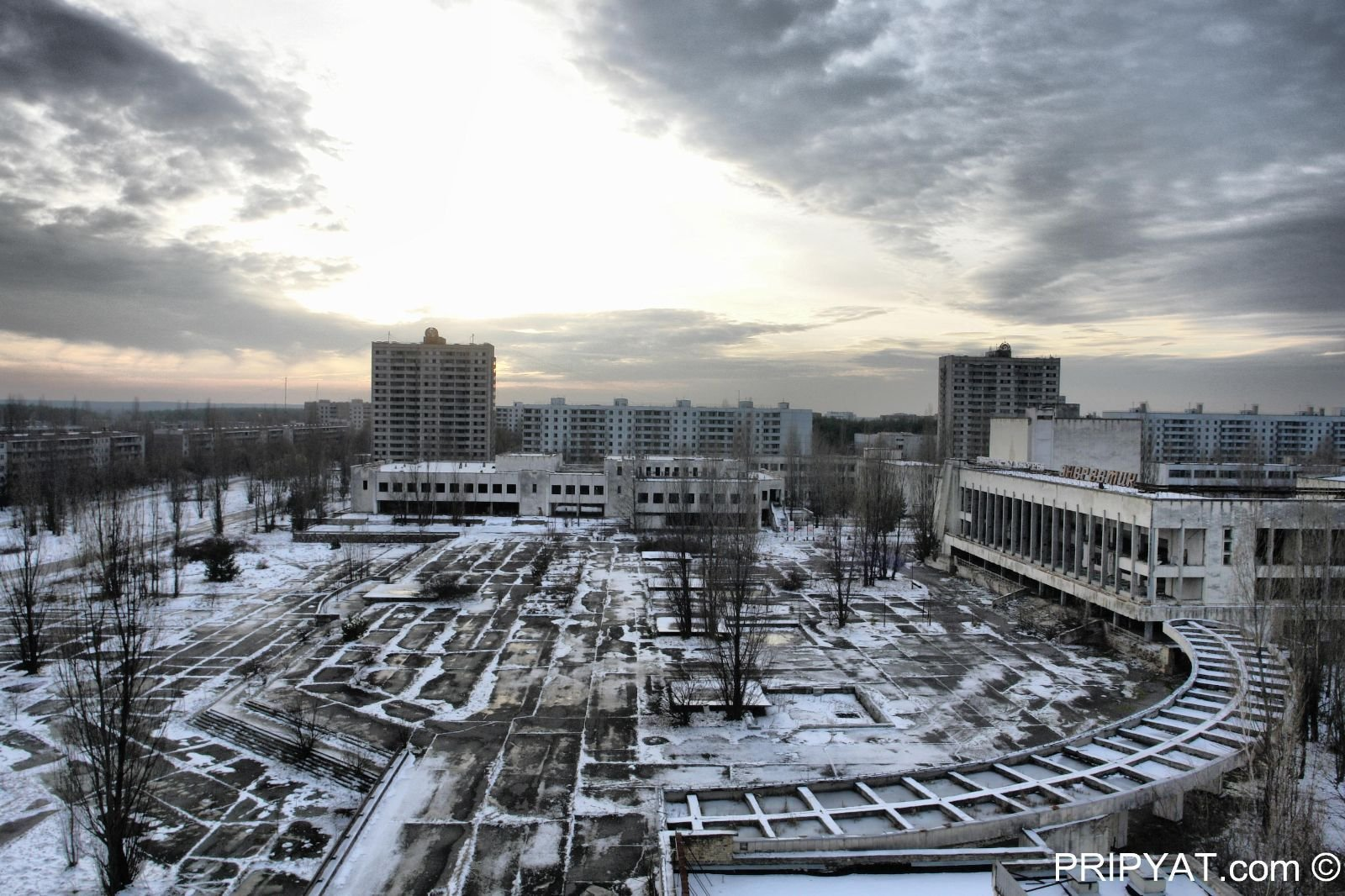 Chernobyl, the city of Pripyat