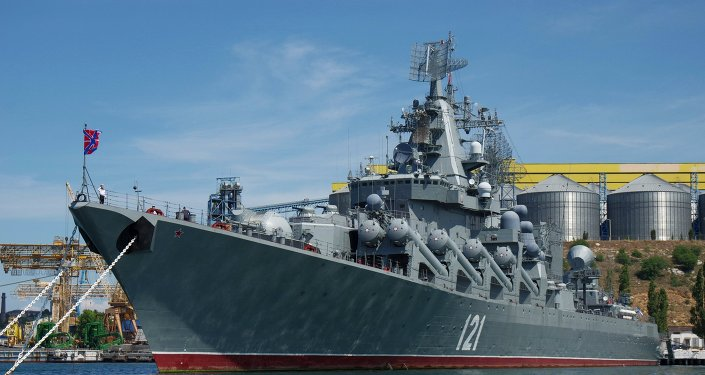 Ships of Black Sea Fleet in Sevastopol