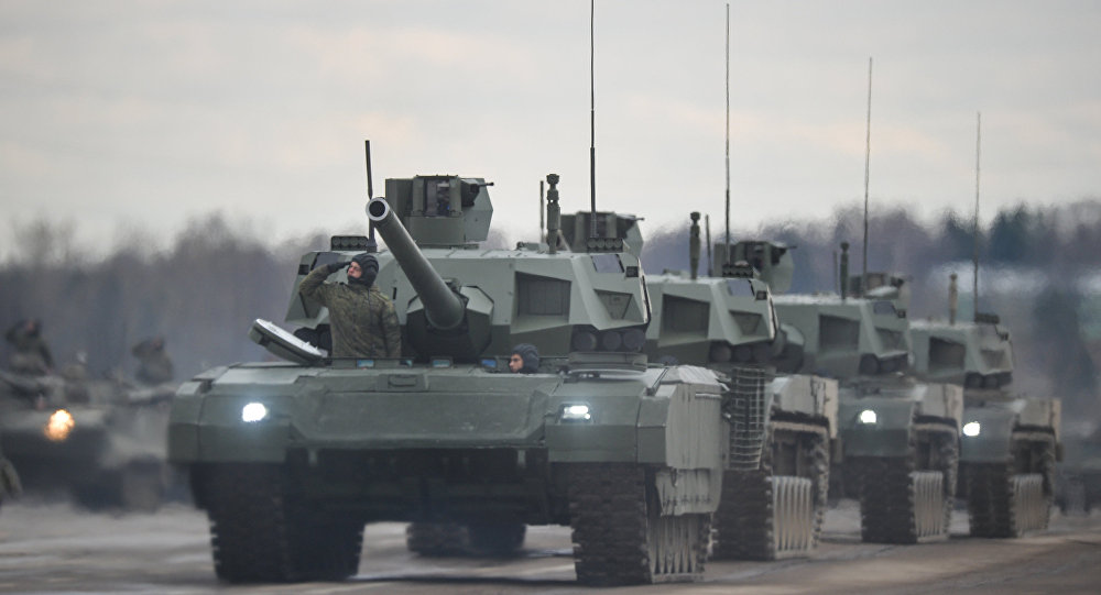 Russia's 21ct century T-14 Armata battle tanks have commenced combat tests displaying their unique features on firing ranges.