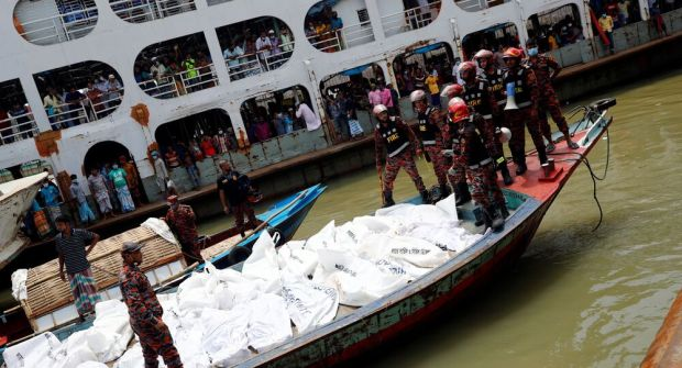 Thirty Found Dead as Boat Capsizes in Bangladesh's Dhaka - Video ...