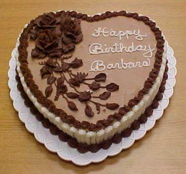 Jigsaw Puzzle Happy Birthday Barbara Chocolate Cake 20 Pieces Jigidi