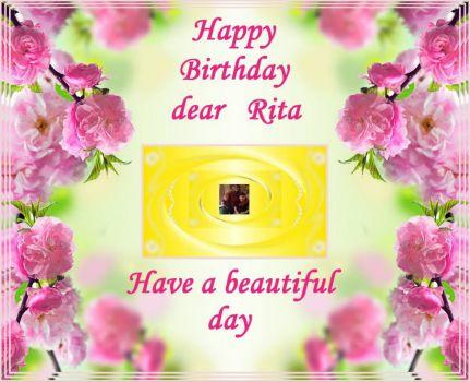 Solve Happy Birthday Dear Rita Chita1023 Jigsaw Puzzle Online With 20 Pieces