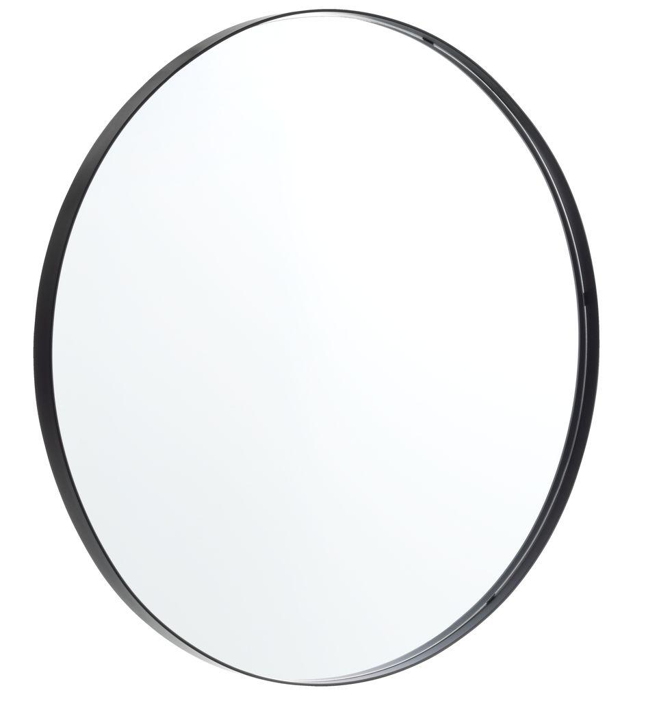 Spejl Marstal O70 Sort Jysk