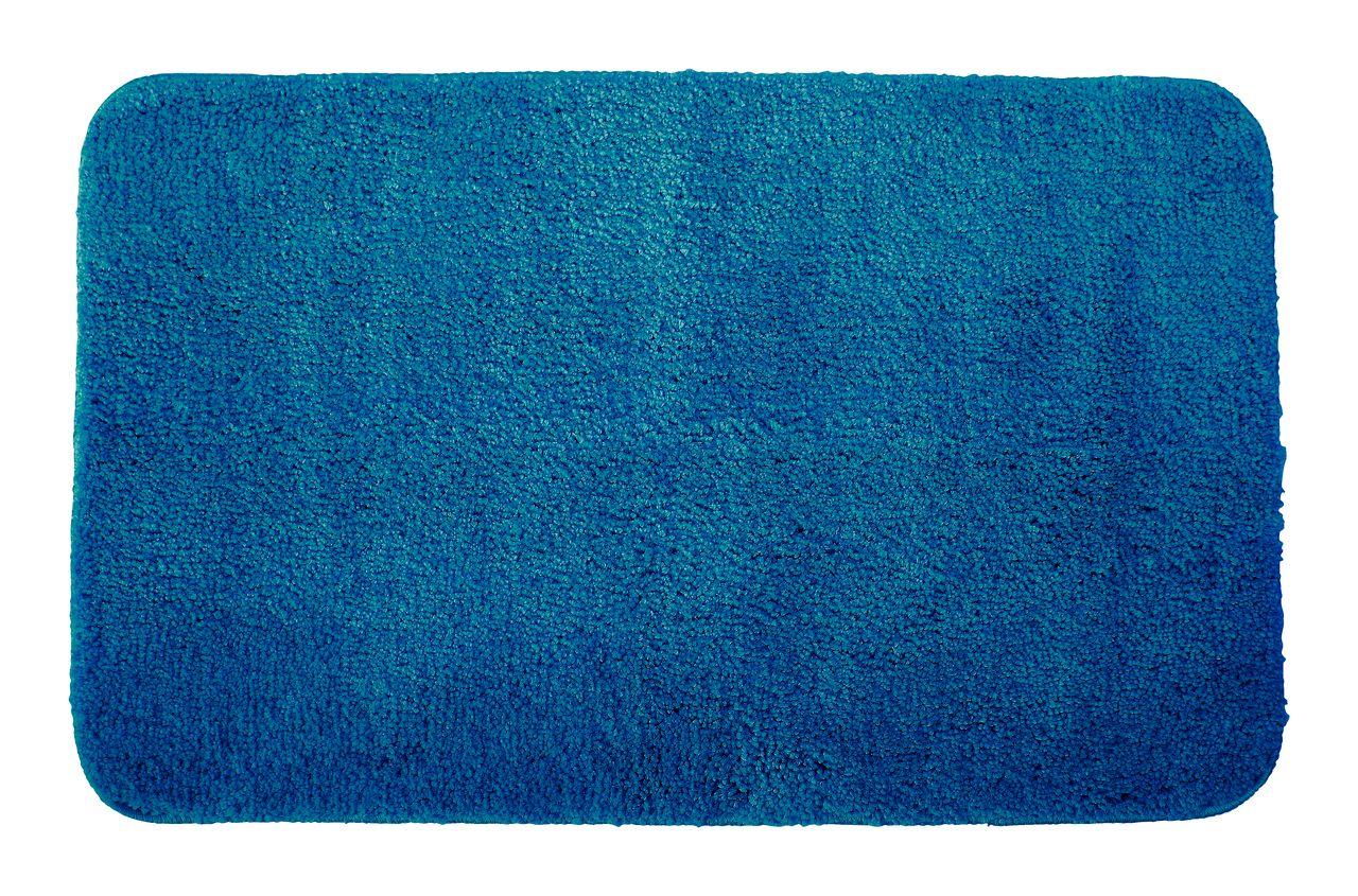 tapis de bain uni de luxe 50x80 petrole