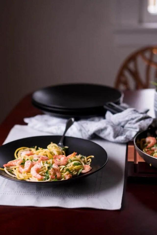 Keto Shrimp Recipes - Low Carb, Gluten Free - Keto Shrimp Scampi