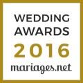 Franck Petit, gagnant Wedding Awards 2016 mariages.net