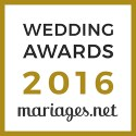 Blackstone Evenements, gagnant Wedding Awards 2016 mariages.net