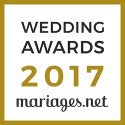 Spiritus Naturae, gagnant Wedding Awards 2017 mariages.net