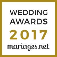 Spiritus Naturae, gagnant Wedding Awards 2017 mariages.net