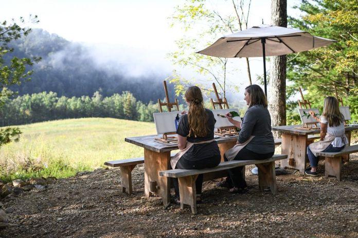 Blackberry Mountain, Tennessee