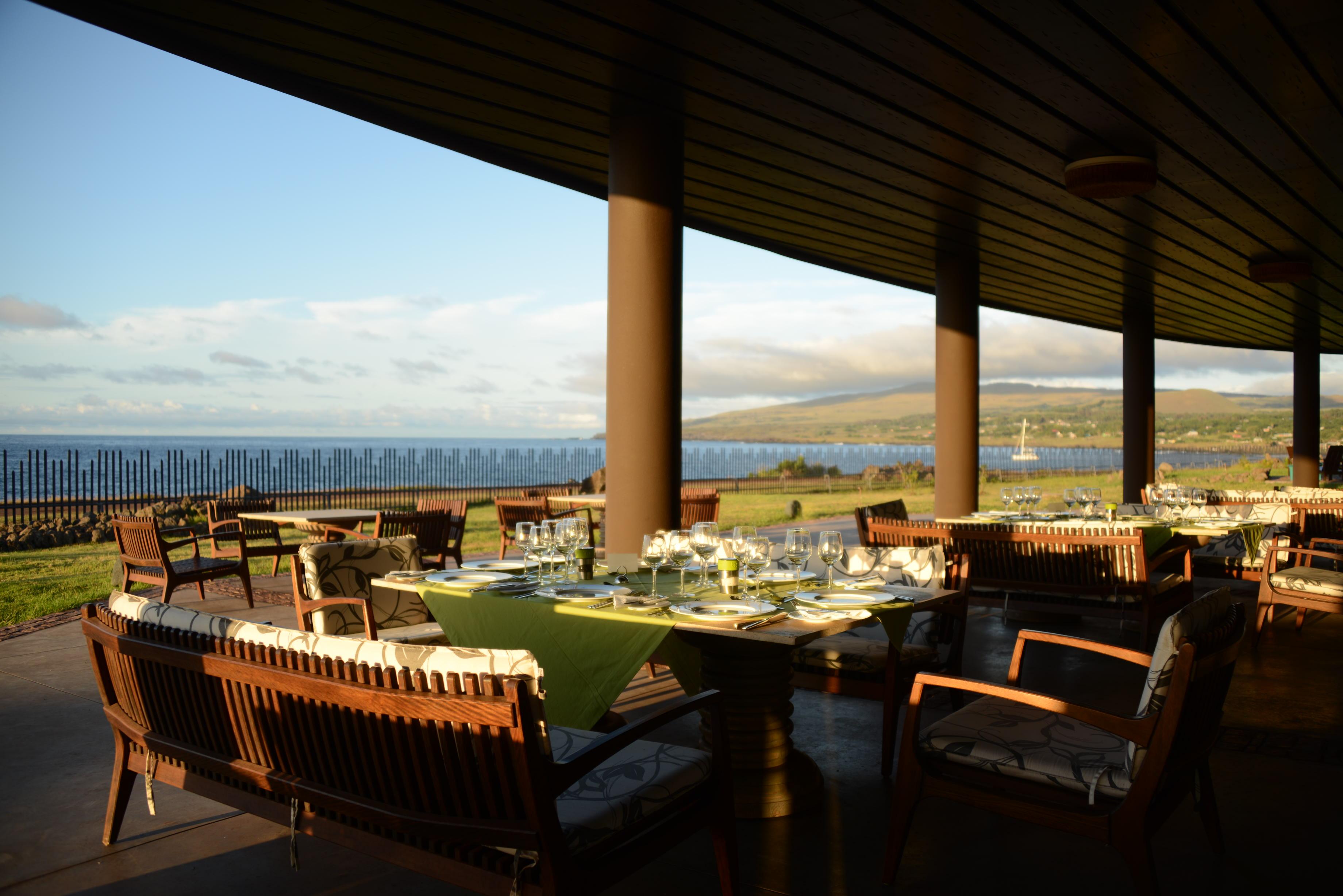 Poerava terrace view- Terraza del Poerava