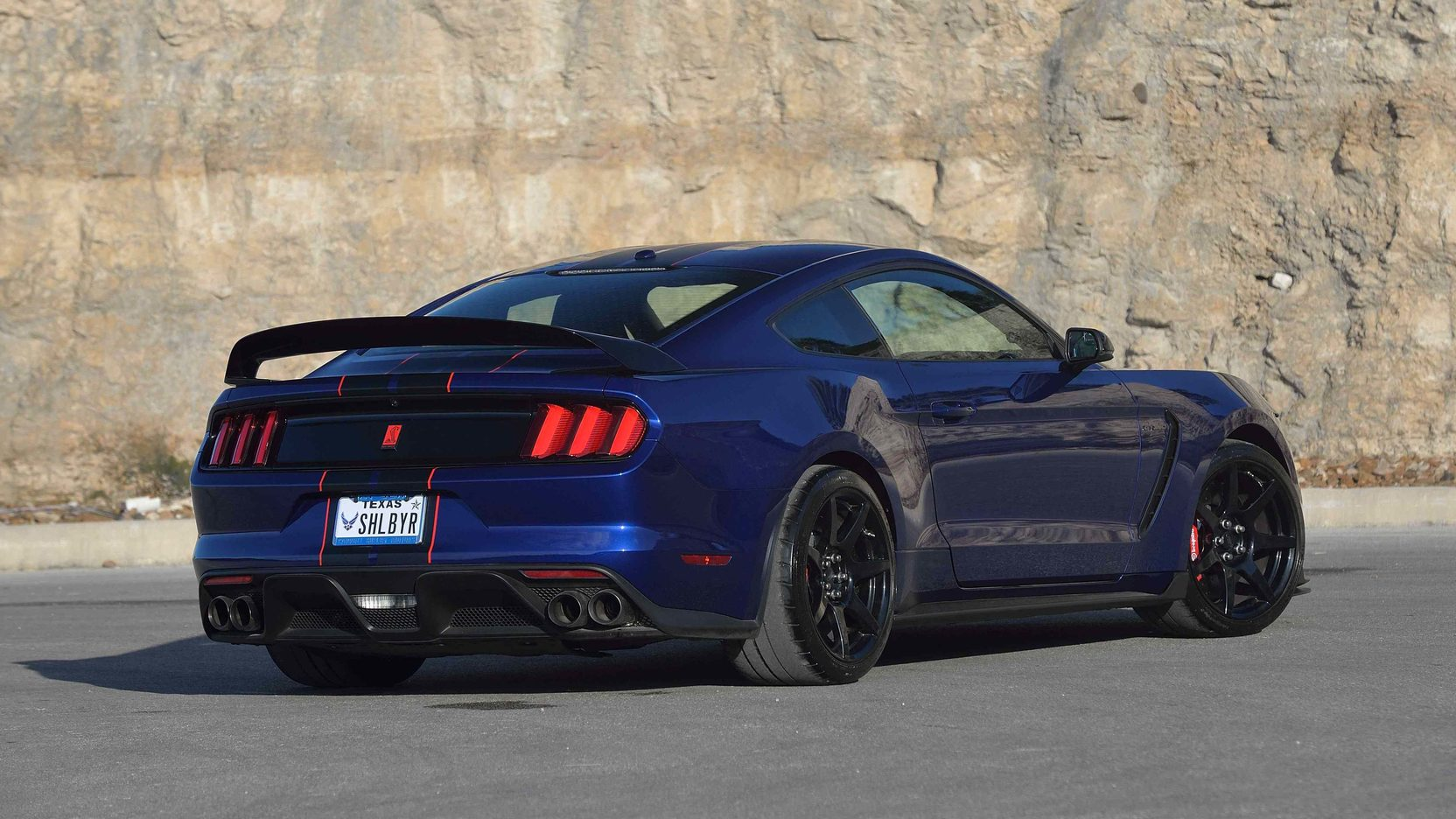 2016 Shelby Gt350 Ford Mustang Blue Interior