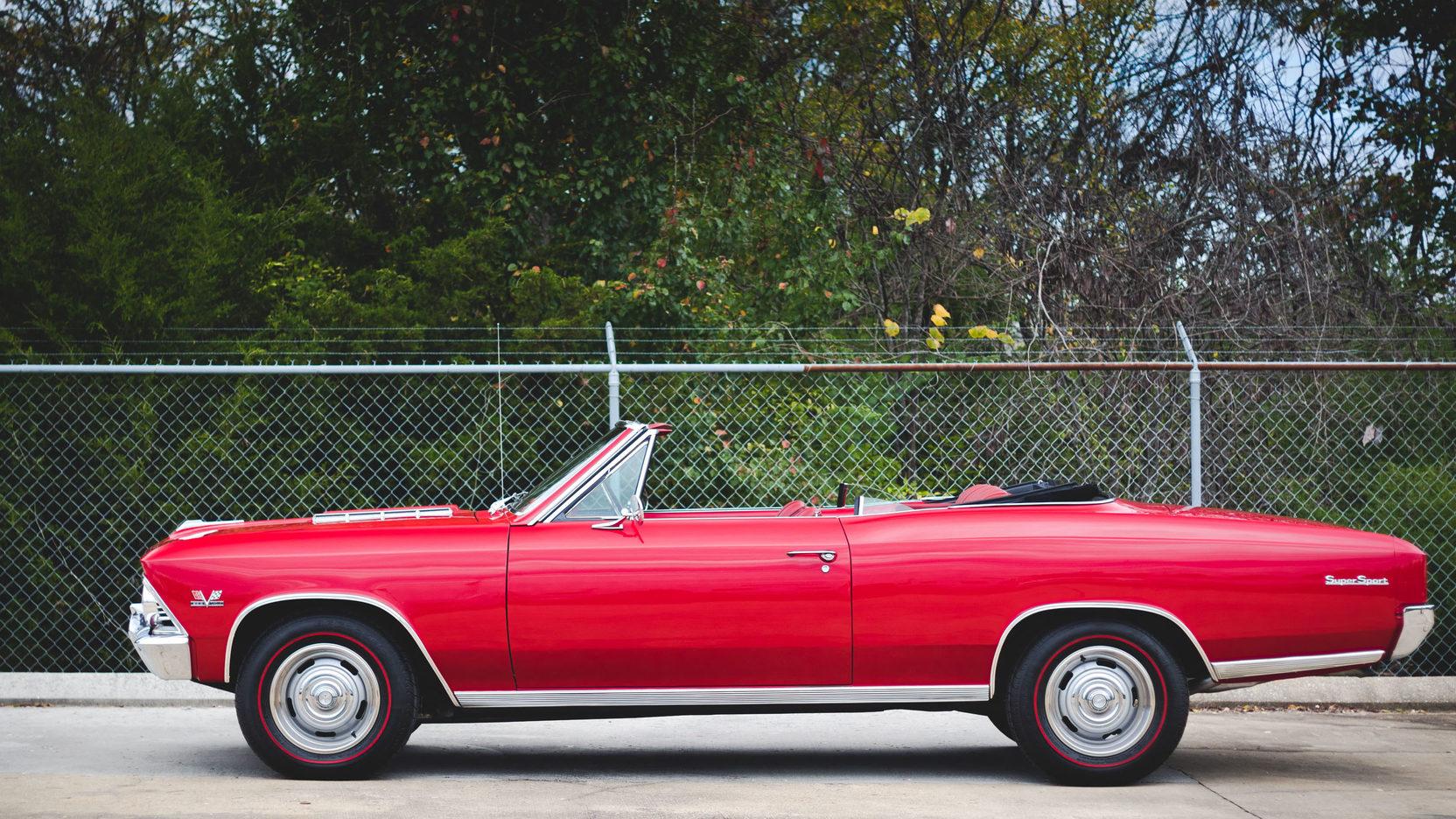 Convertible Chevelle Ss 1966