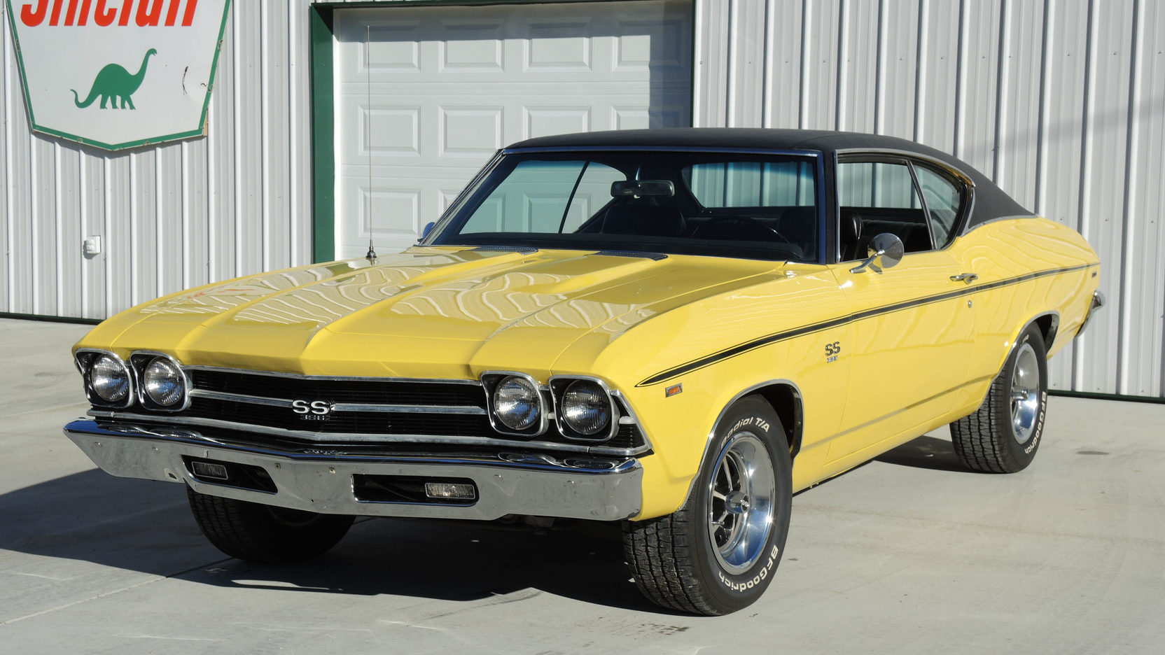 69 Chevelle Ss 454 Yellow