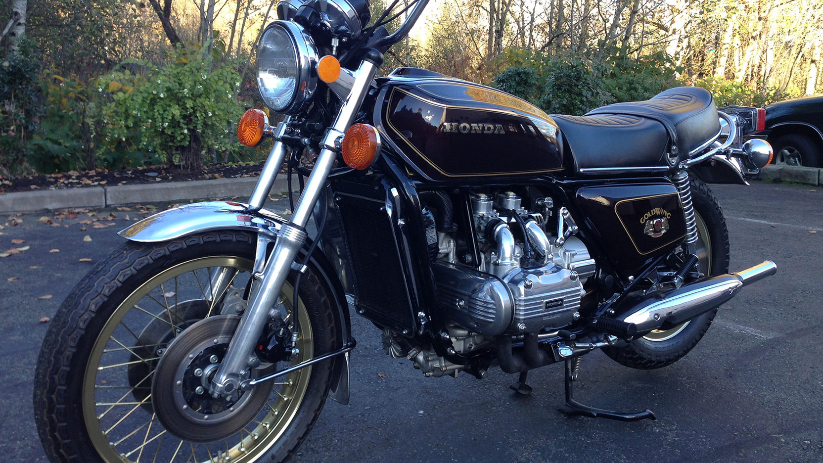 1976 Honda GL1000 LTD   F255   Las Vegas Motorcycle 2017