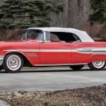 1957 Pontiac Bonneville Convertible F221 Indy 2019