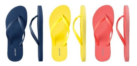Old Navy $1 Flip-Flop Sale is on June 20, 2015