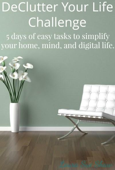 Free 5-Day Declutter Challenge