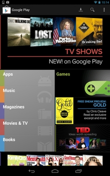 Google announces the Google Nexus 7 Tablet