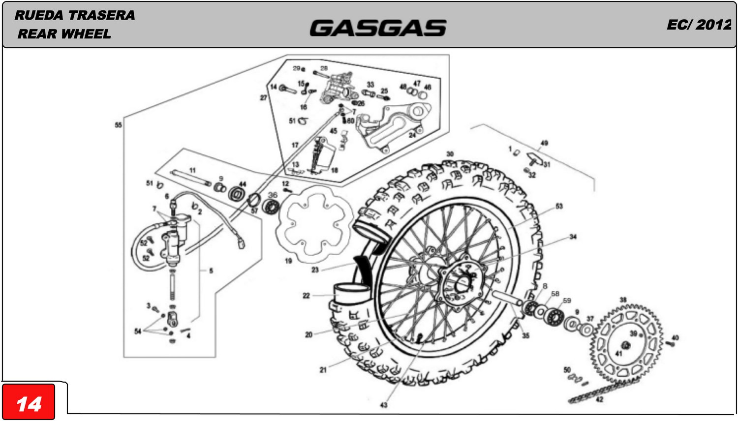Diagram Of Engine Ktm 505