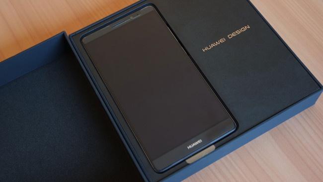 Caja del Huawei Mate 8