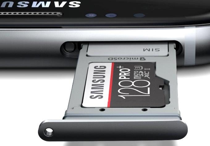 bandeja MicroSD Samsung Galaxy S7