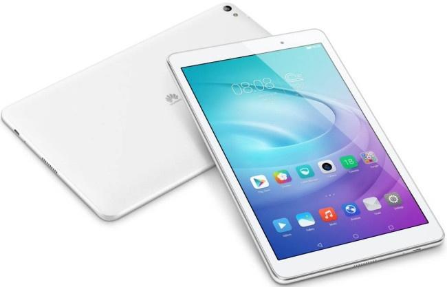 Huawei Mediapad T2 en color blanco