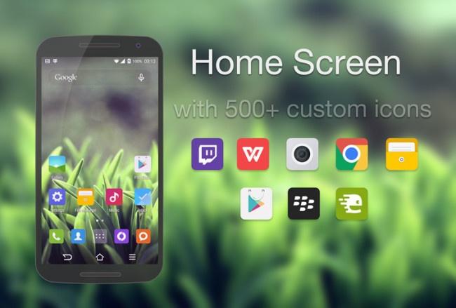Tema para CyanogenMod 13 basado en la interfaz MIUI de Xiaomi
