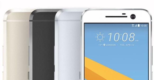 HTC 10 gama de colores