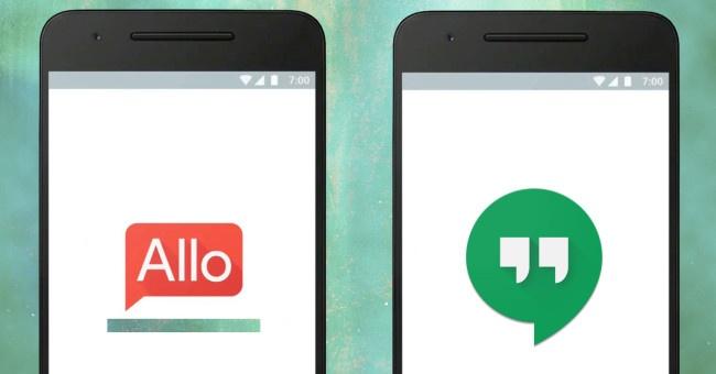 google hangouts y google allo