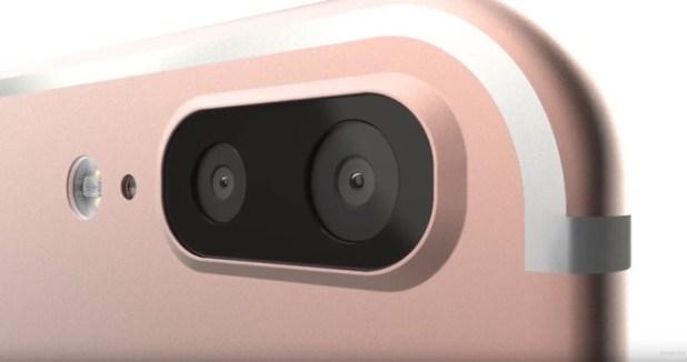 Camara doble del iPhone 7 Plus