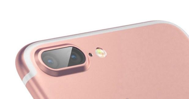 iPhone 7 Plus con doble lente para la cámara