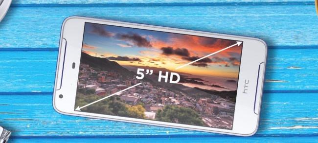 HTC Desire 628 pantalla
