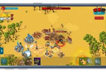 Batalla en juego Cloud Raiders