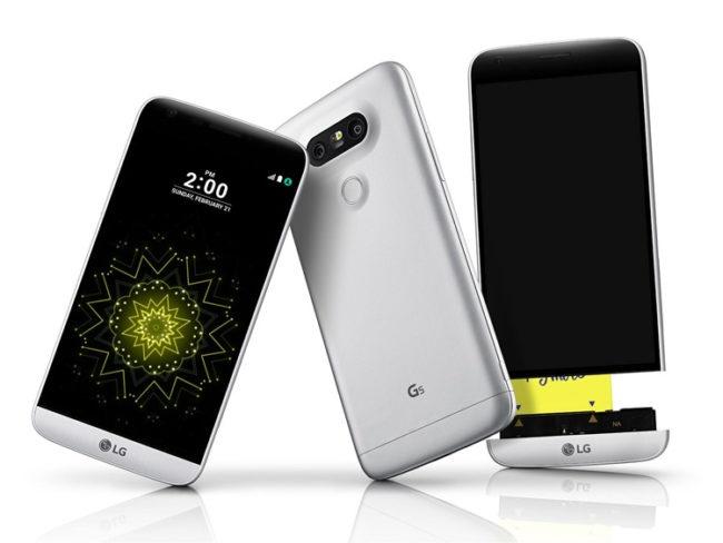 LG G5 con Nougat