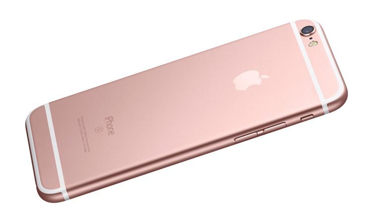 iPhone 6s Plus en color rosa