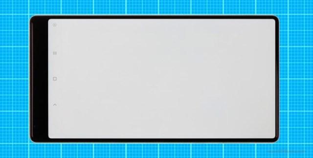 Medición del cuadro de pantalla del ©Xiaomi Mi Mix